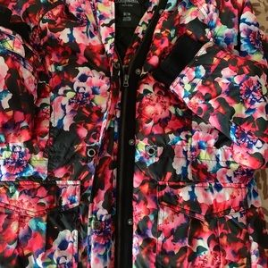 Floral jacket!!! Perfect for a chilly day